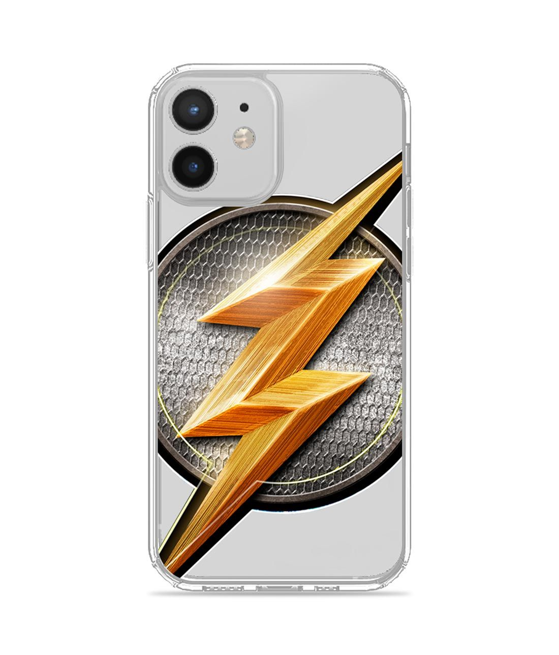 Flash Storm - Clear Case for iPhone 12